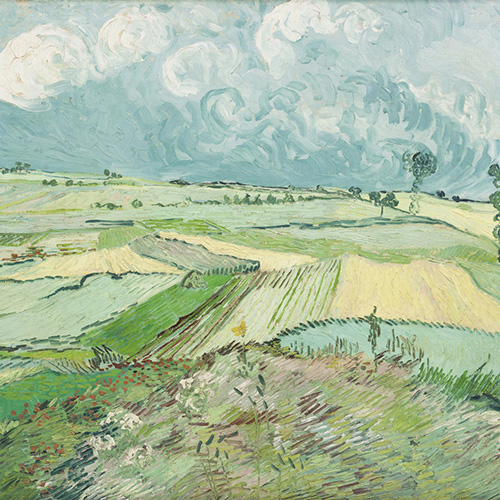 Van Gogh, Wheat Fields after the Rain