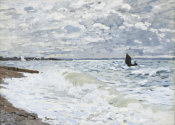 Claude Monet - The Sea at Le Havre, 1868