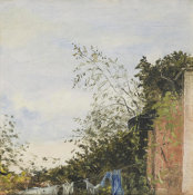 John Constable - The Washing Line, ca. 1821