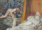 Edgar Degas - The Bath (Le bain), ca. 1895