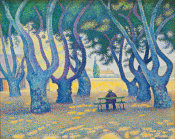 Paul Signac - Place des Lices, St. Tropez, 1893