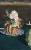 Edouard Manet - Still Life with Brioche, 1880