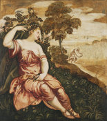 Jacopo Rubusti (called Tintoretto) - Allegory of Spring and Summer, ca. 1575-1585