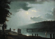 Russell Smith - Old Monogahela Bridge, ca. 1832