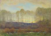 Dwight William Tryon - Dawn, 1918
