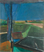 Richard Diebenkorn - Black Table, 1960
