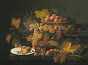 Severin Roesen - Still Life with Fruit, ca. 1854–1855