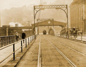 H. Renzelman - (Bridges: South End of Smithfield St. Bridge Looking South) 1912