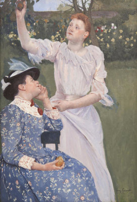 Mary Cassatt - Young Women Picking Fruit, 1897