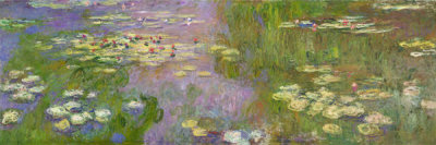 Claude Monet - Water Lilies (Nymphéas), ca. 1915-1926