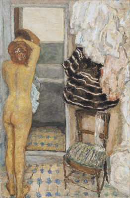 Pierre Bonnard - The Full-Length Mirror, 1910