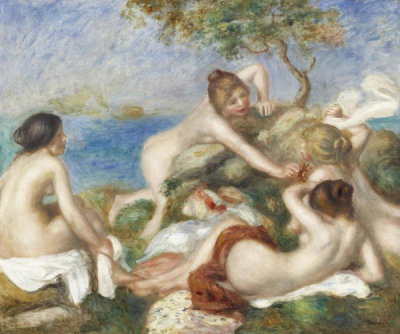 Pierre-Auguste Renoir - Bathers with Crab, ca. 1890-1899