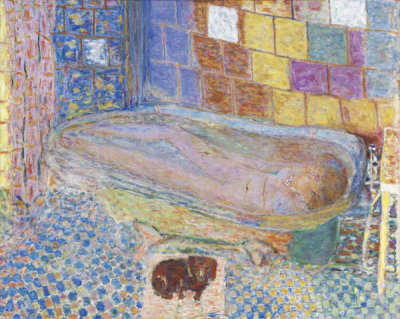 Pierre Bonnard - Nude in Bathtub, ca. 1940-1946
