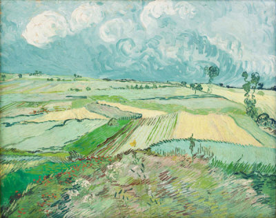 Vincent van Gogh - Wheat Fields after the Rain (The Plain of Auvers), 1890