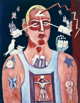 Marsden Hartley - Sustained Comedy, 1939