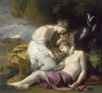 Benjamin West - Venus Lamenting the Death of Adonis, 1768
