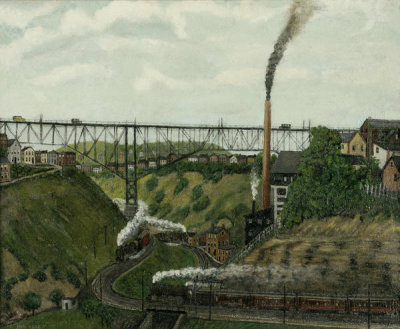 John Kane - Bloomfield Bridge, ca.1930
