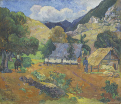 Paul Gauguin - Landscape with Three Figures, 1901