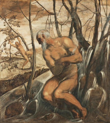 Jacopo Rubusti (called Tintoretto) - Allegory of Winter and Autumn, ca. 1575-1585