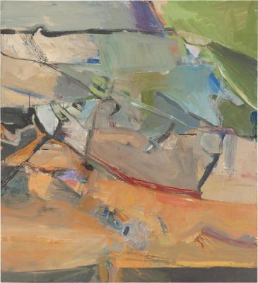 Richard Diebenkorn - Berkeley No. 38, 1955
