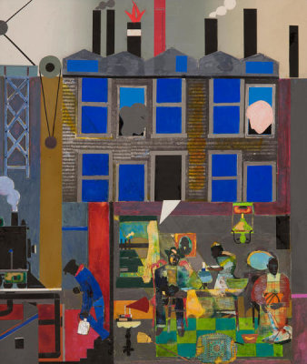 Romare Bearden - Pittsburgh Memories, 1984