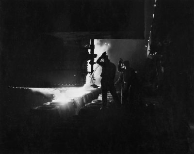Luke Swank - (Industry - Making Steel), ca. 1930s