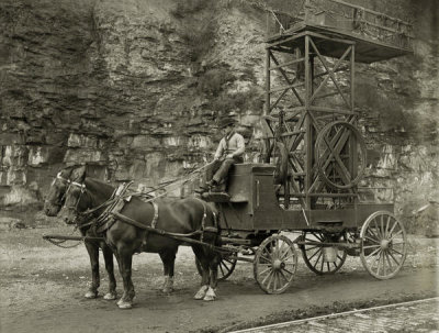 H. Renzelman - (Industry: Man at Reins of Horse Drawn Wagon) 1909